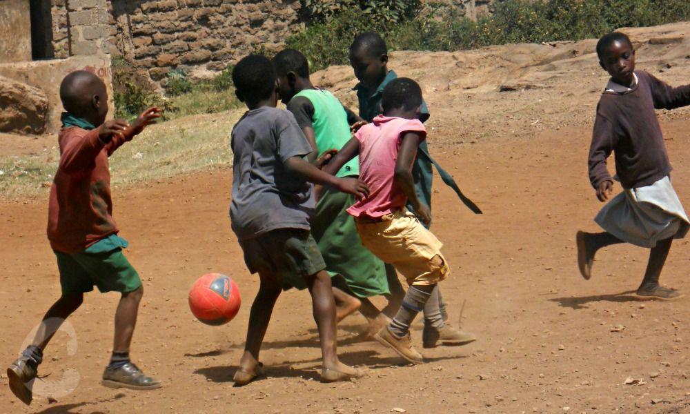 A Game of Football in Kibera