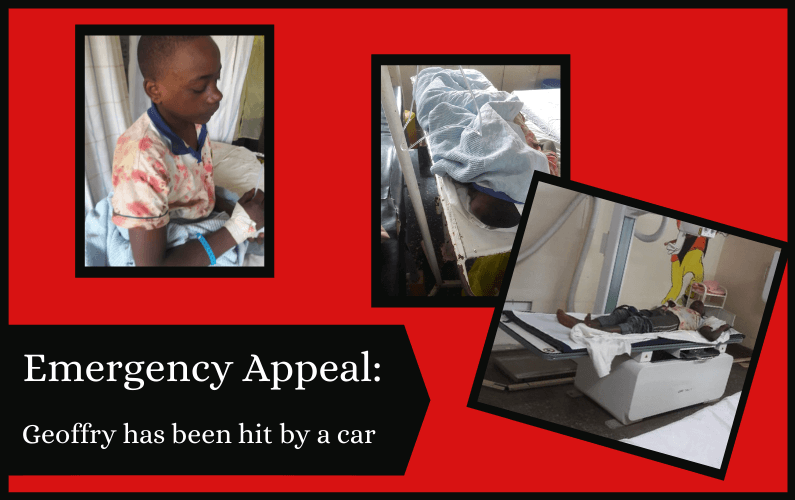 Emergency Appeal: 'hit-and-run' hospital bills for 10-year-old Geoffry