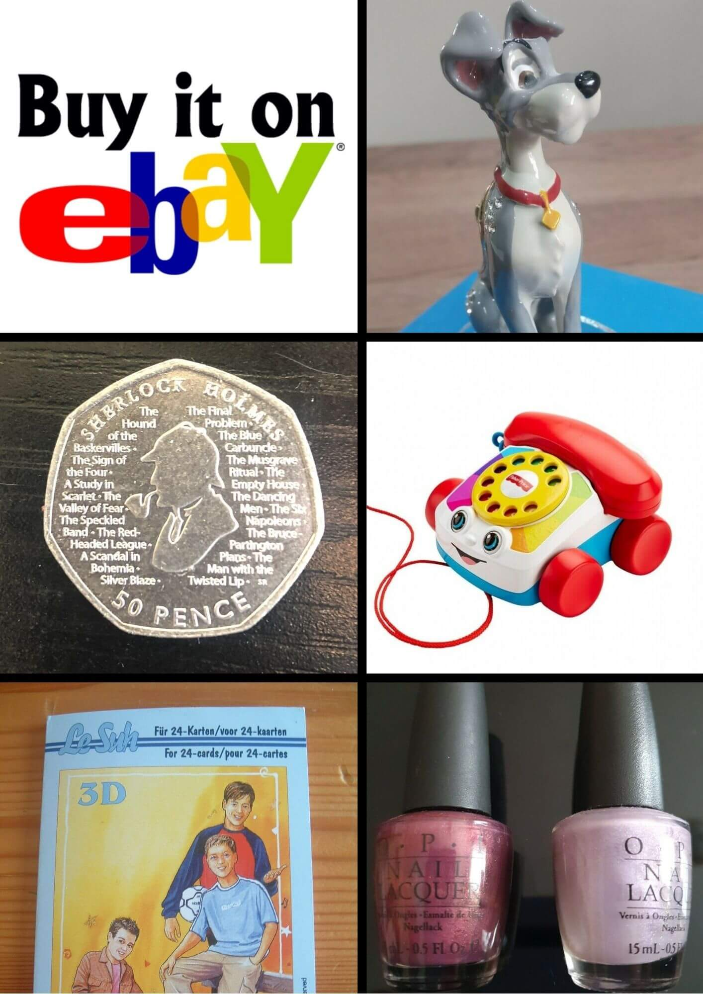 Examples of items sold on ebay