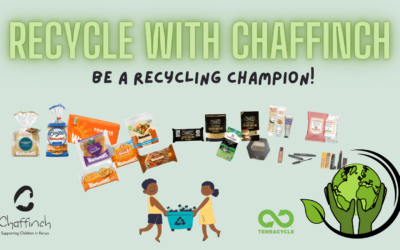 Recycle with Chaffinch and Terracycle